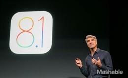iOS 8.1 và Apple Pay chính thức phát hành