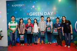 Green Day - Họp mặt cùng Kaspersky Care 2014