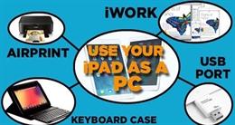 Cách biến iPad thành laptop cho công việc