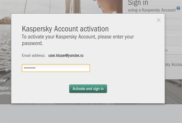 Hướng dẫn cách dùng My Kaspersky