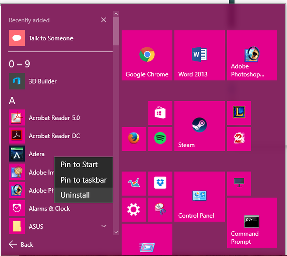 3 cách gỡ cài đặt các ứng dụng trên Windows 10