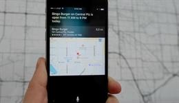 Dùng Siri để biết giờ làm việc của các cửa hàng