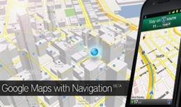 Google Maps mới không cần internet vẫn dùng được