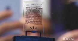 Phát triển thành công chip máy tính tự hủy trong 10 giây
