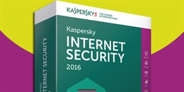 Kaspersky Internet Security 2016 có gì mới?