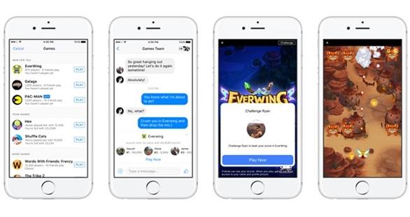 Game On – thách đấu bạn bè chơi game ngay trên Messenger