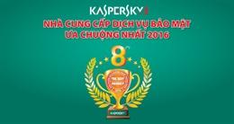 Kaspersky hân hạnh nhận giải thưởng sản phẩm CNTT - TT được ưa chuộng nhất năm 2016