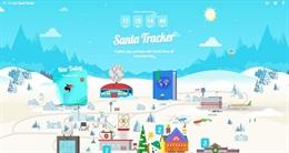 Tưng bừng đón Giáng Sinh cùng Google Santa Tracker