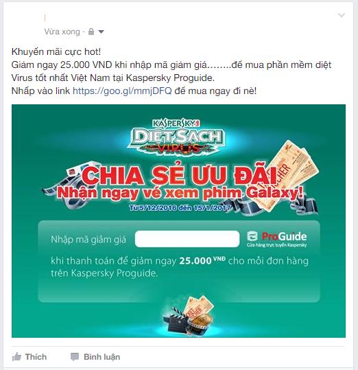 Đăng nội dung chia sẻ trên Facebook