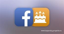 Birthday Cam: cách mới để chúc mừng sinh nhật trên Facebook
