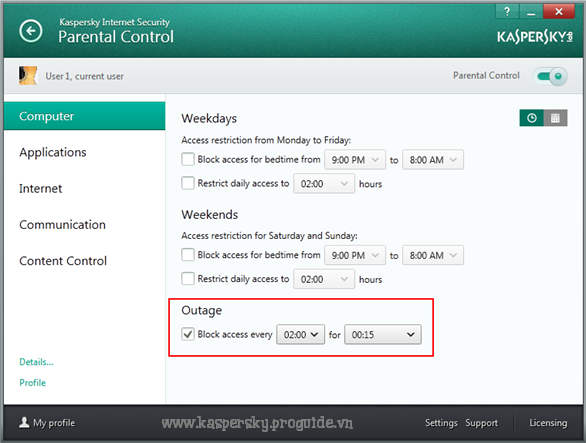 Cách cài đặt Kaspersky Internet Security chăm sóc sức khỏe - bản quyền key kaspersky proguide
