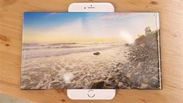 Ý tưởng iPhone 7 biến hình tùy thích với màn hình mở rộng gấp 3 lần
