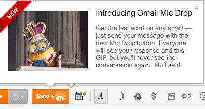 Trò đùa buông Mic của Gmail trong Cá Tháng Tư 2016