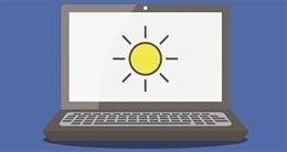 3 cách chỉnh độ sáng màn hình máy tính không cần dùng bàn phím