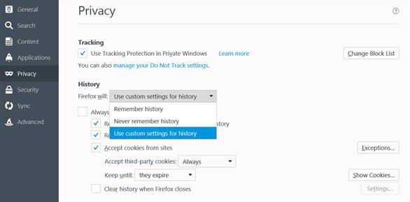 Cách quản lý Cookies và bảo mật thông tin cá nhân trên trình duyệt - bản quyền phần mềm diệt virus chính hãng Kaspersky Proguide