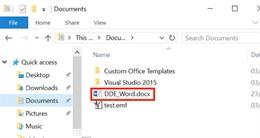 Tính năng tích hợp trong MS Office cho phép mã độc thực thi mà không cần kích hoạt Macro
