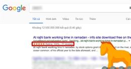Hacker thao túng kết quả tìm kiếm để lây lan mã độc