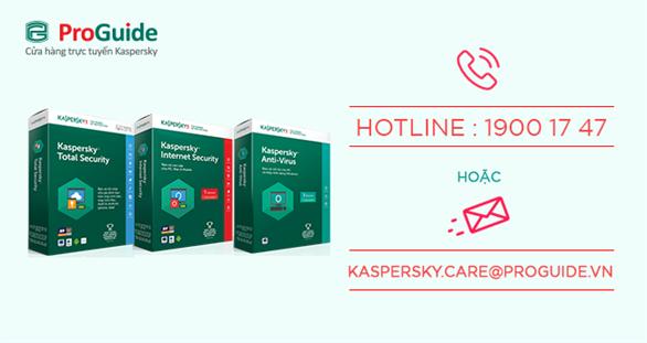 Hướng dẫn mua bản quyền phần mềm diệt virus Kaspersky chính hãng