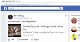 Cảnh báo liên kết giả mạo Youtube trên Facebook