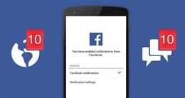 Hướng dẫn cấu hình thông báo Facebook trên ứng dụng di động