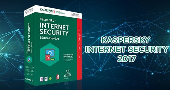 Phần mềm Kaspersky Internet Security 2017 có gì mới?