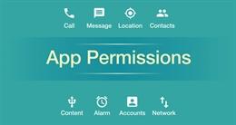 Cách thiết lập quyền truy cập cho ứng dụng di động