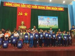 Quỹ hỗ trợ Giáo dục Nam Trường Sơn chắp cánh ước mơ hiếu học của 2,000 em học sinh Phú Yên, Khánh Hòa, Ninh Thuận, Bình Thuận