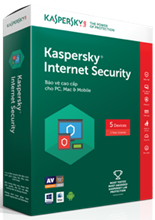 Kaspersky Internet Security - 5PCs/ Năm