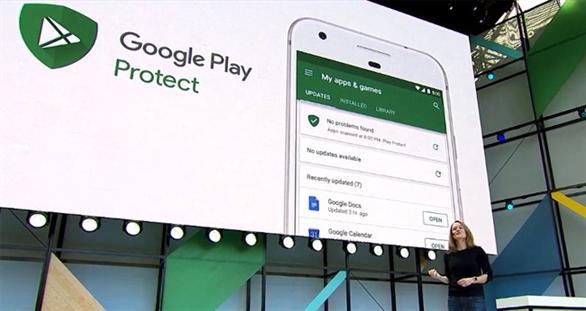 Google Play Protect có thể bảo vệ người dùng khỏi các ứng dụng Android độc hại