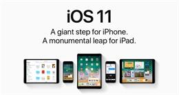 Lưu ý trước khi nâng cấp lên iOS 11