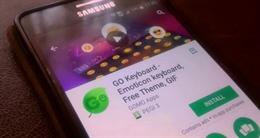 Ứng dụng gõ bàn phím GO theo dõi người dùng