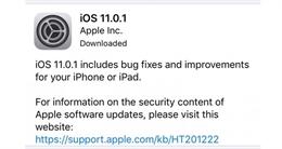 Apple bất ngờ tung bản cập nhật iOS 11.0.1