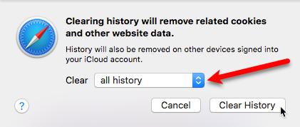 Cách xóa dữ liệu và lịch sử duyệt web trên trình duyệt Safari