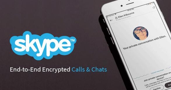 Skype thêm tính năng hội thoại riêng tư có mã hóa đầu cuối