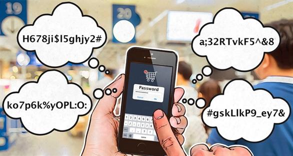 Khảo sát của Kaspersky Lab: những khó khăn về mật khẩu của người dùng được tiết lộ