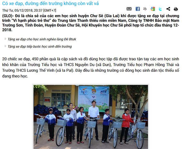 Quỹ Hỗ Trợ Giáo Dục NTS Kaspersky trao quà tặng khuyến học cho 4 tỉnh Bình Phước, Đắk Nông, Đắk Lắk và Gia Lai