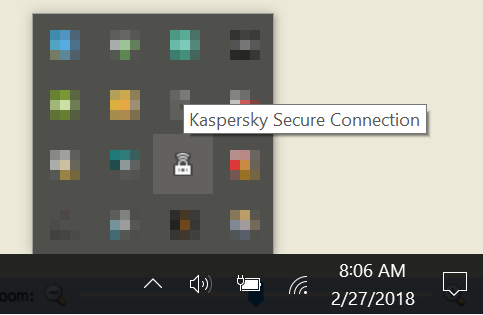 Cách bật VPN với Kaspersky Secure Connection