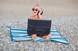 Trẻ em thường tìm kiếm video và âm thanh khi truy cập Internet