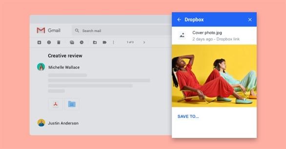 Quản lý tệp đính kèm Gmail hiệu quả với Dropbox
