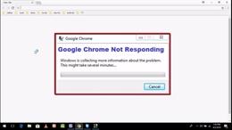 Hướng dẫn sửa lỗi Google Chrome không phản hồi – phần 1