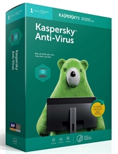 Kaspersky Anti-Virus - 3 PCs / Năm