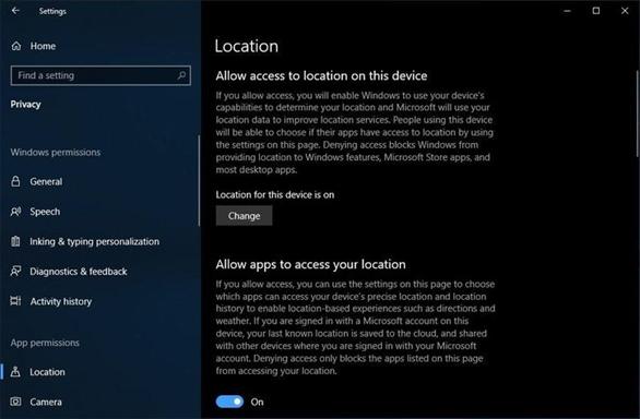 5 cài đặt bảo mật trên Windows 10 cần làm ngay