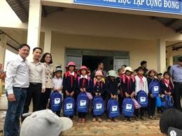 1500 phần quà khuyến học và 90 xe đạp được Quỹ Hỗ Trợ Giáo Dục NTS trao tặng cho học sinh Ninh Thuận, Bình Thuận, Đồng Nai, Lâm