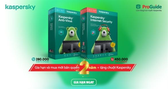 Tặng chuột trị giá 200K cho Gia Hạn và Mua Mới Bản Quyền 2 năm