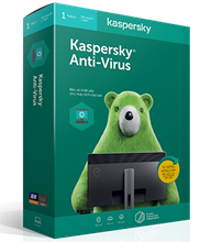 Kaspersky Anti-Virus - 1 PC / 2 Năm
