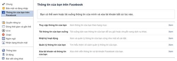 Cách xóa tài khoản Facebook của bạn mà không bị mất dữ liệu