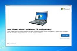 Ai còn đang dùng Windows 7? Bạn đã sẵn sàng cho những phiền hà sắp tới?