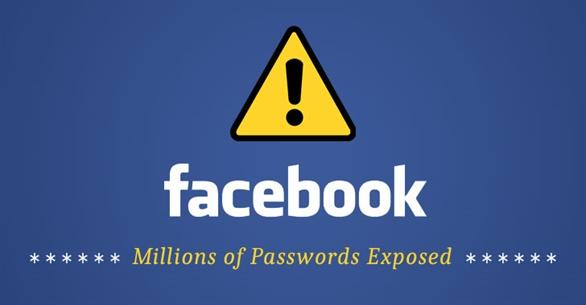 Hàng triệu mật khẩu của người dùng Facebook bị rò rỉ