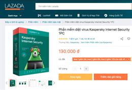 Mua phần mềm bảo mật Kaspersky giả, tiết kiệm hay rước họa vào thân?