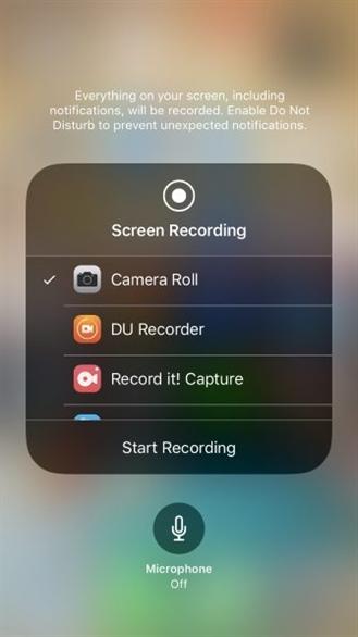 Hướng dẫn ghi lại màn hình iPhone của bạn